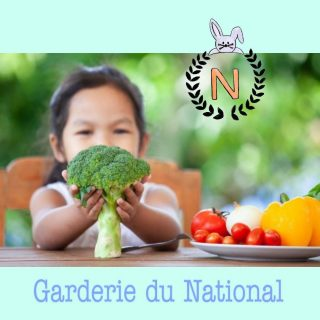 Menu Garderie Legumes et Fruits